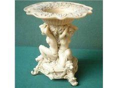 Centrepiece nymphes, baroque, artificial marble, reproductio