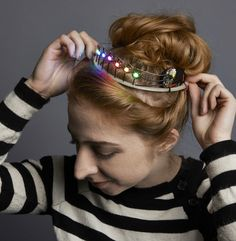 Never really wanted to be a princess, but the idea of making my very own NeoPixel Tiara, now that's a different thing entirely!