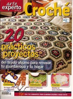 Artesanato com amor...by Lu Guimarães: Colchas Crochê  Com Gráficos I
