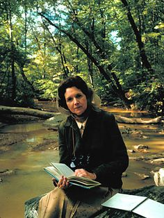 Rachel Carson (1907-1964) If it weren't for Rachel Carson, the green movement might not exist today. Her monumental book Silent Spring documented the devastating effects of pesticides like DDT on birds and the environment, and the revelations eventually helped lead to the creation of the Environmental Protection Agency. In addition, Carson wrote feature articles and novels about natural history and the environment, including her prize-winning sea trilogy (Under the Seawind, The Sea Around Us...