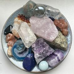 Crystal Room, Crystal Magic, Crystal Healing Stones, Crystals And Gemstones, Stones And Crystals, Crystal Aesthetic, Cool Rocks, Witch Aesthetic, Good Energy