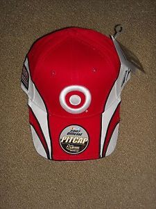 a reed sorenson chase authentics red white 41 target adjustable nascar hat cap