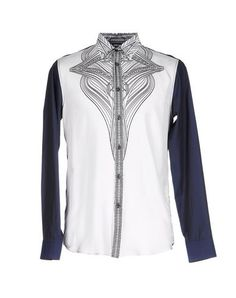 JUST CAVALLI Shirts. #justcavalli #cloth #top #pant #coat #jacket #short #beachwear