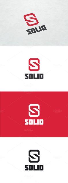 Solid - Letter S Logo. Logo Templates. $29.00