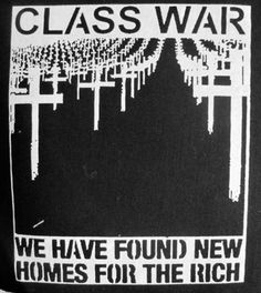 Class War Punk DIY Patch Screen Printed by massmedia on Etsy, $2.50