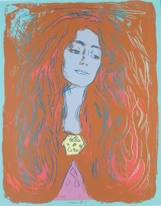 Andy Warhol,  Eva Mudocci (after Munch) (F.& S. IIIA.59c-e)