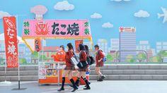 NMB48出演「ご当地グルメのバイト」篇 ©AKS