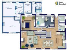 Floor plans from some TV series... | House