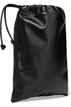 Smythson Kingly Medium Leather Pouch In Black Leather Pouch, Leather Backpack, Smythson, Woman, Medium, Bags, Shopping, Style, Fashion
