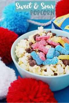 Celebrate the Captain Underpants movie release at Walmart with a fun movie night party! Create this sweet and sour popcorn recipe with Pop Secret, serve Lance Snacks, and you can pair with cherry carnival cupcakes! #Pop4Captain #ad #Pmedia