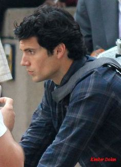 Henry Cavill (as Clark Kent) - Wolverine will have to be nice (yeah, right) and share the space in my heart! LOL