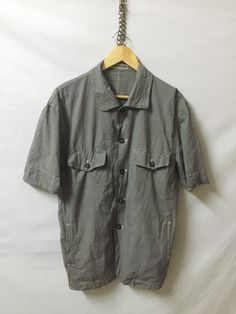 A personal favourite from my Etsy shop https://www.etsy.com/listing/385210950/issey-miyake-men-shirt-button-down