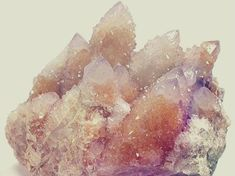 """Spirit Quartz (also known as the Cactus Quartz) envelopes one in love. Activates and opens the crown chakra. Opens one to self-forgiveness, self-love, and a feeling that """"everything's alright!"""" in the sense that we are destined for Love, and do indeed exi"""