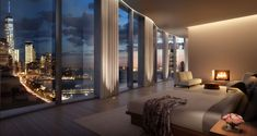 New renderings are out for the interiors at 160 Leroy, the Ian Schrager developed West Village condo building, that as of last week already had half of its 49...