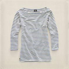 Ralph Lauren Long-Sleeved Boatneck Top