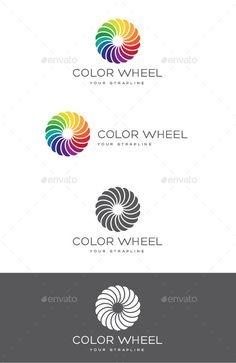 Color Wheel Logo — Vector EPS #sign #creative • Available here → https://graphicriver.net/item/color-wheel-logo/9818330?ref=pxcr