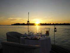 Sunset Dining @ Naladhu Maldives