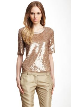 Rose Sequin Blouse