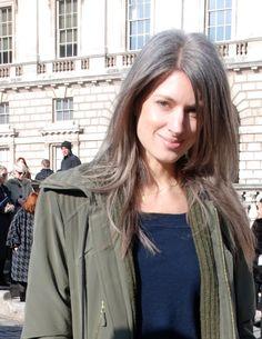 Sarah Harris and her perfect gray hair - My IDOL!