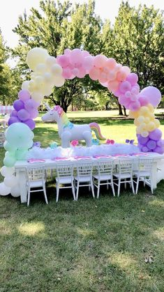 Jojo Siwa and Unicorn Birthday Party Ideas Diy Unicorn Birthday Party, Rainbow Unicorn Party, Rainbow Birthday Party, Unicorn Birthday Parties, Birthday Party Decorations, Paris Birthday, Spa Birthday, Unicorn Party Decor, 7th Birthday Party For Girls Themes
