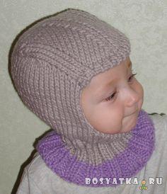 Шапка-шлем   Семейный сайт Босятка