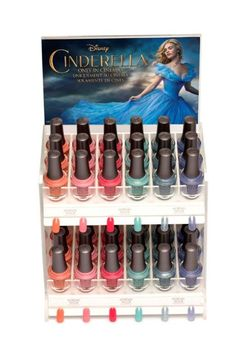Morgan Taylor has teamed up with Disney's forthcoming live-action Cinderella film on a whimsical collection of shades inspired by the fairy tale, due for release in March 2015. The Cinderella collection features six new hues from fanciful glitters to princess-perfect pastels, with duo packs, minis and displays for plenty of retailing options. Available from 1st March 2015. #nailsdesign #nailpolish #beauty #naillacquer #nails #manicure #nailcare #beautynews #beauty2015