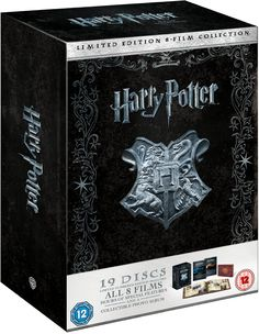 Harry Potter: The Complete 1-8 Film Collection - Limited Numbered Edition Blu-ray