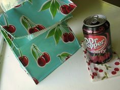 oilcloth lunchbag