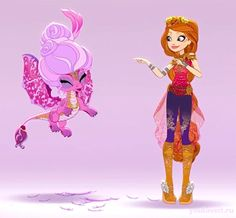 Ever After High Dragon Games Holly O'hair & Prince of Scales