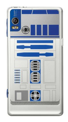 R2-D2 phone case, love it almost as much as the Han in carbonite case.