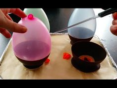 how to make chocolate balloon bowls - The Snug: Because why wouldn't you want to make chocolate balloon bowls?