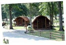 Cabins At Starke / Gainesville N.E. KOA Campground In Florida