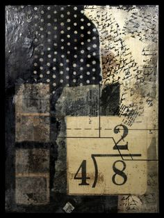 Division * Encaustic Collage