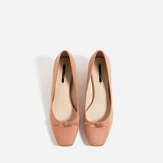 Image 6 of HIGH HEEL SHOES WITH BOW DETAIL from Zara