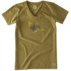 <p>It all starts with a great tee and this Short Sleeve Crusher Vee is the Crusher you know and love with a v-neck collar. Easy to wear and perfect to…