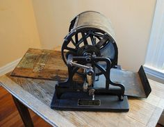 Antique early 1900s Rotary Neostyle No. 8 F Copy Machine Stencil Duplicator