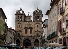 Cathedral of Braga, northern Portugal