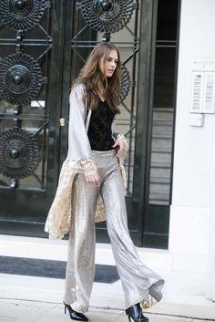 Olea pants Flare Pants, Lace Detail, Duster Coat, Sequins, Bohemian, Cotton, Jackets, Collection, Design