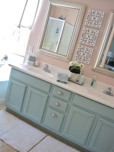 Types of Bathroom Cabinets cabinets bathroom, bathroom ideas c… – Diy Bathroom Remodel İdeas Painting Cabinets, Remodel, Bathroom Makeover, Girls Bathroom, Home Decor, Painting Bathroom, Painted Vanity Bathroom, Bathrooms Remodel, Bathroom Design