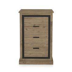 Chiffonier 4 tiroirs Naturel brossé - Cocto - Nouveautés - Promos - Alinéa