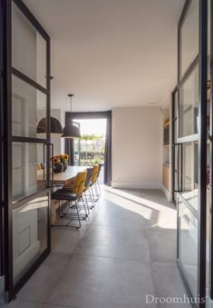 Schuurwoning Hardenberg-27(1) Modern Minimalist, Outdoor Spaces, Indoor, Interior, House, Furniture, Sims 4, Home Decor, Rooms