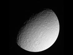 10 March 2013: Portrait of a Lady - Cassini Returns Images of Battered Saturn Moon