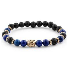 Bracelets for men - Brown Homage to Buddha Bracelet In stock! Neshraw – Bracelets for men Lava Bracelet, Bracelet Cuir, Stone Bracelet, Cheap Bracelets, Bracelets For Men, Paracord Bracelets, Beaded Bracelets, Diamond Bracelets, Bangles