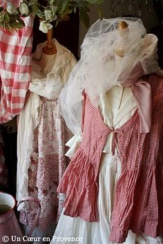 Clothes in L'Atelier des Ours at Uzes