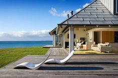 Este paraíso fica no Nova Zelândia e inspira uma atmosfera relaxante. Um convite acolhedor para as férias. #totalmentearquitetura #arquitetura