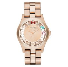 Marc by Marc Jacobs Henry 40mm watch in Rose Gold.