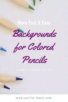 Pencil Drawing Tips Three backgrounds you can do with water-based media in five minutes or less. - Looking for fast and easy backgrounds for colored pencil drawings? Carrie shares three methods for creating unique backgrounds with watercolor pencils. 3d Drawing Techniques, Pencil Drawing Tutorials, Drawing Skills, Drawing Tips, Pencil Drawings, 3d Drawings, Drawing Art, Drawing Ideas, Horse Drawings
