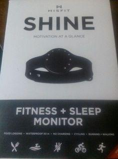 Brand New, Jet Black Misfit Shine Wireless Activity Tracker #MisfitWearables