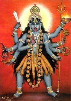 Goddess Kali Images, Maa Kali Images, Indian Goddess Kali, Durga Images, Lord Shiva Hd Images, Goddess Art, Durga Goddess, Kali Mata, Jay Maa Kali