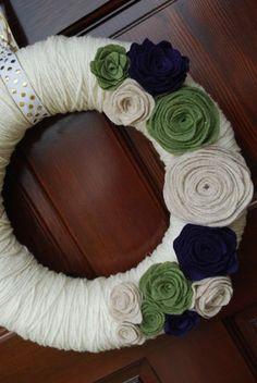 wreath I'm going to make! - @Heather Pelleriti wanna make them together?
